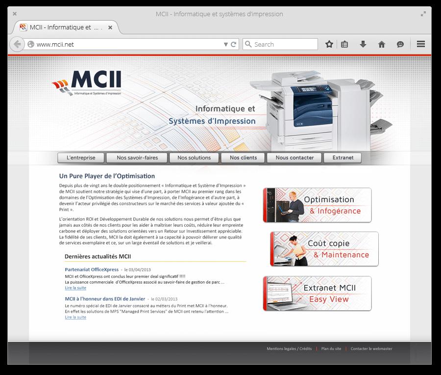 Site Internet MCII