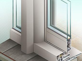 Illustrations de fenêtres Installux Aluminium