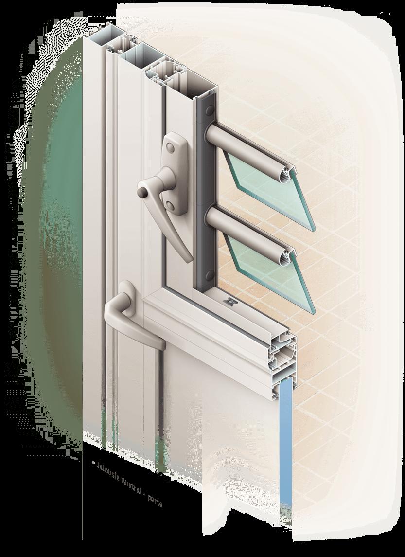 Illustrations de fenêtres et volets Installux Aluminium / S2 - image Illustration-porte-fenetre-Installux-Jalousie-Austral on https://www.philippe-mignotte.fr