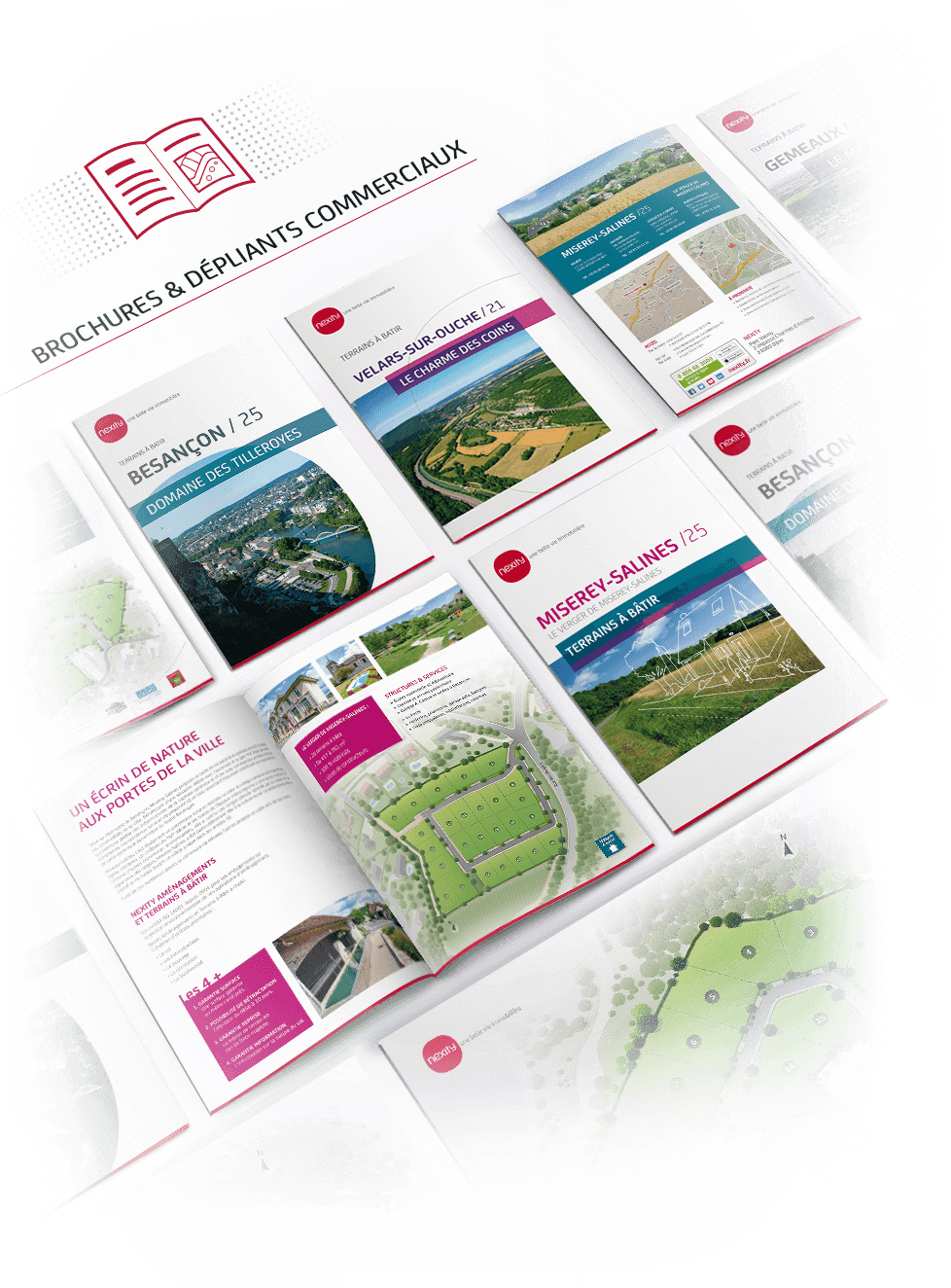 Supports de communication NEXITY Bourgogne - Franche-Comté - image Brochures-commerciales-Nexity-Prepresse-PAO on https://www.philippe-mignotte.fr