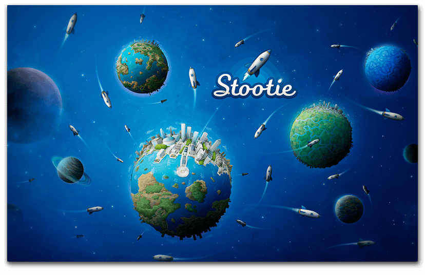Identité visuelle Stootie - image Illustration-univers-Stootie on https://www.philippe-mignotte.fr