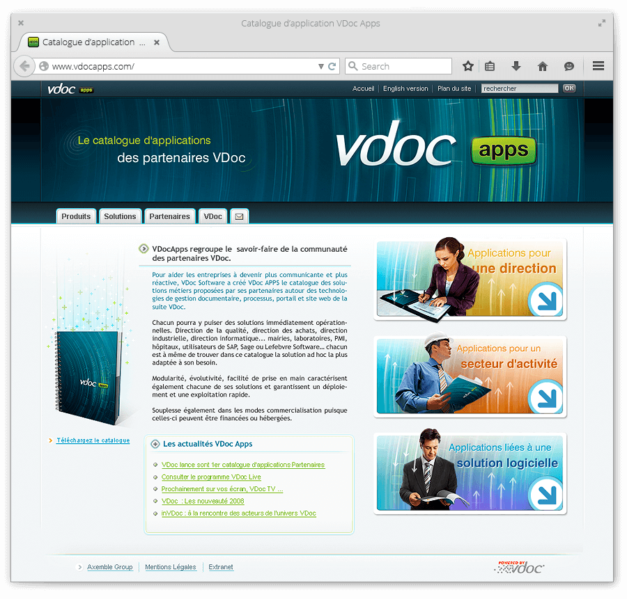 Catalogue VDoc Apps - image Webdesign-du-site-VDoc-Apps on https://www.philippe-mignotte.fr